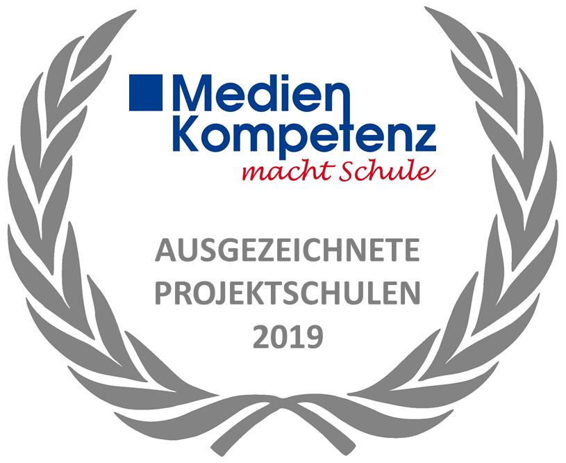 Medienkompetenz macht Schule – Auszeichnung für Projektschule 2019